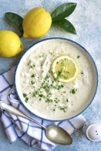 Lemon Chicken Soup