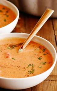 Low Carb Tomato Bisque
