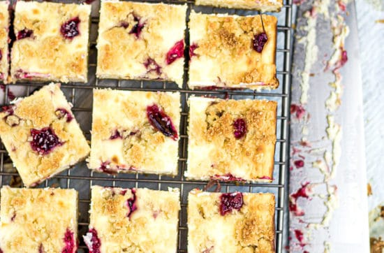 Sugar Free Cranberry Bars
