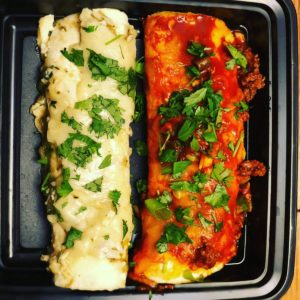 Beef & Chicken Enchiladas