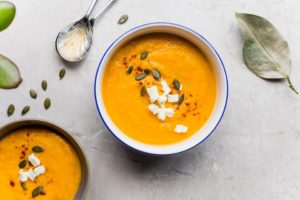 Carrot Feta Soup
