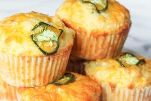 Jalapeño Cheese Muffins