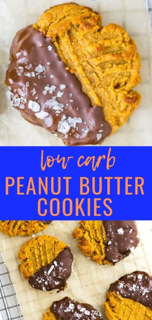 Keto PB Choc Cookies