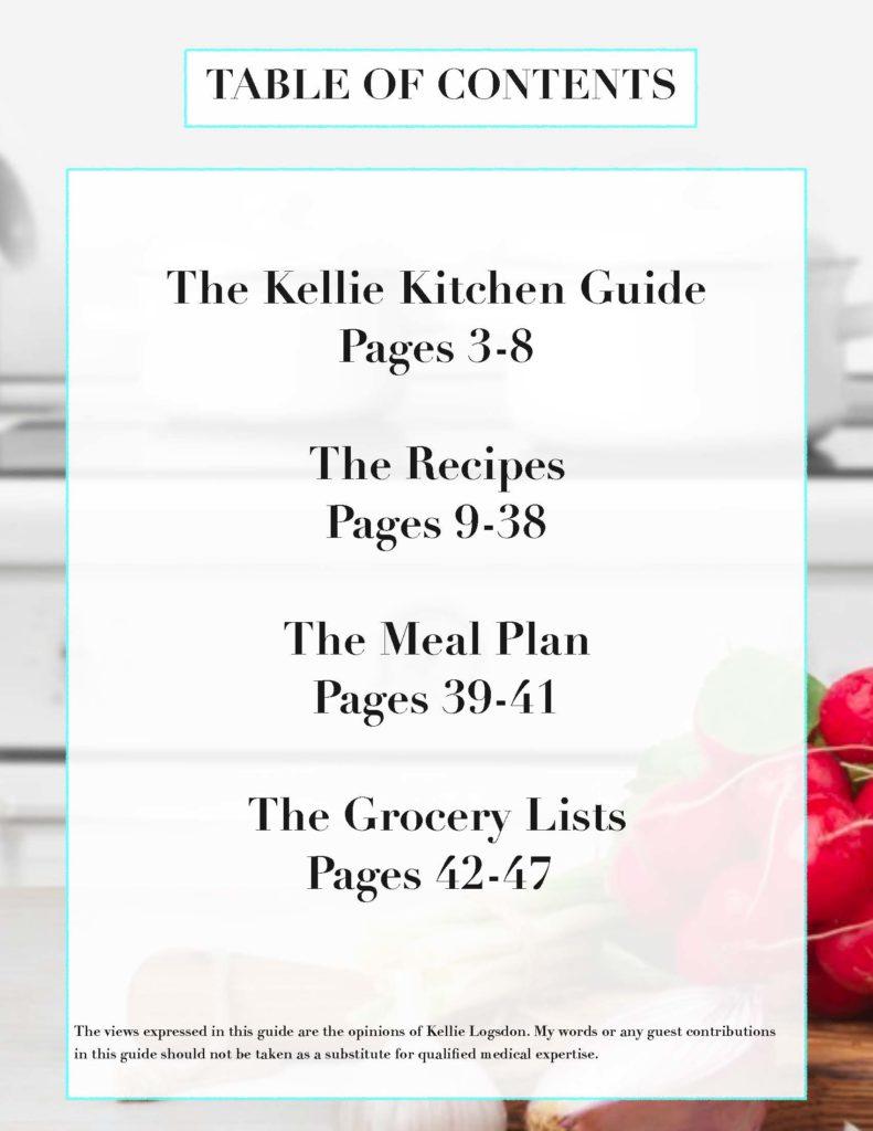 TheKellieKitchen~Quick Start Keto Guide