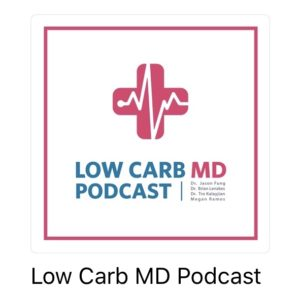 LowCarbMD Podcast Episode 59 with Kellie Logsdon of TheKellieKitchen.com