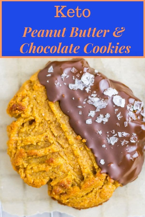 Peanut Butter and Chocolate cookies