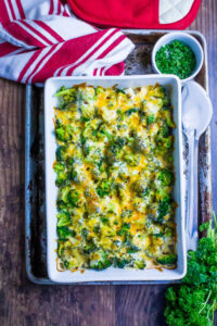 Keto Chicken Broccoli Casserole
