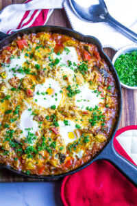 Easy Ratatouille Egg Bake